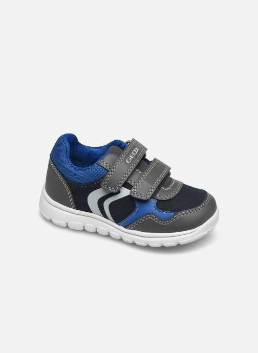 Baskets Geox B Xunday Boy B841BD Gris vue détail/paire