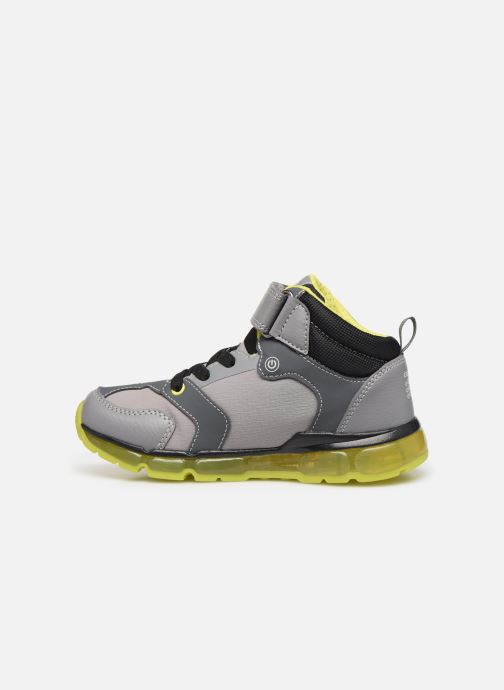 Baskets Geox J Android Boy J8444B Gris vue face