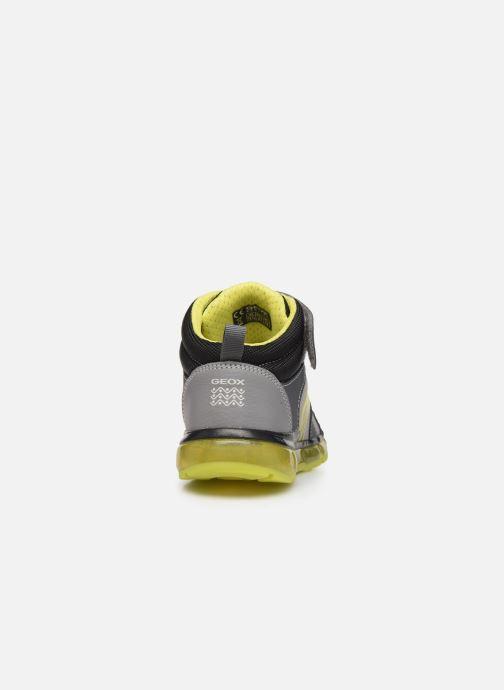 Baskets Geox J Android Boy J8444B Gris vue droite