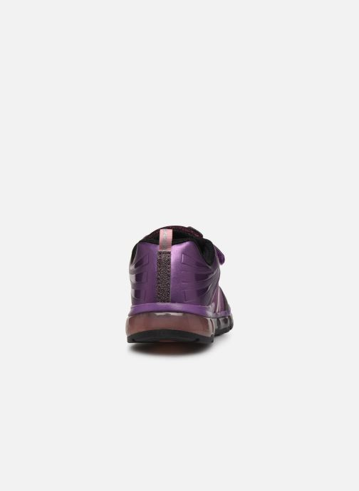 Baskets Geox J Android Girl J8445A Violet vue droite