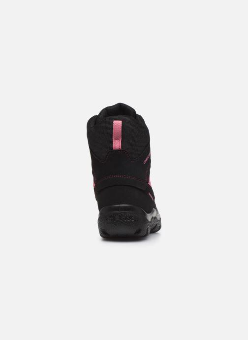 Bottines et boots Geox J Clady Girl B WPF J745NB Noir vue droite
