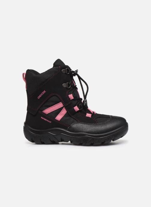 Bottines et boots Geox J Clady Girl B WPF J745NB Noir vue derrière