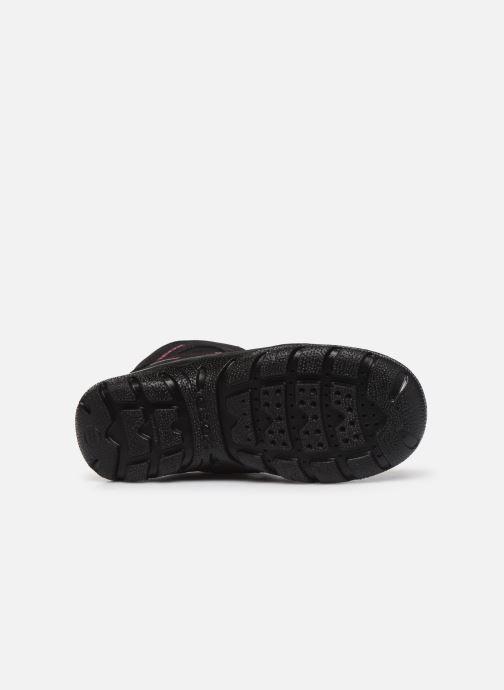 Stiefeletten & Boots Geox J Clady Girl B WPF J745NB schwarz ansicht von oben