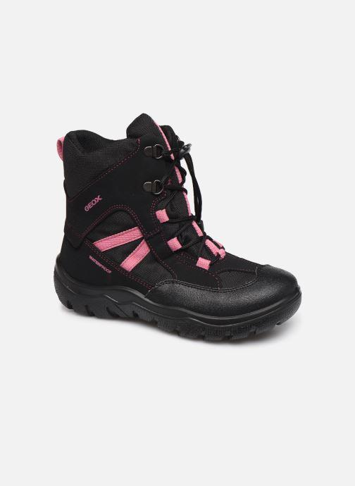 Bottines et boots Geox J Clady Girl B WPF J745NB Noir vue détail/paire