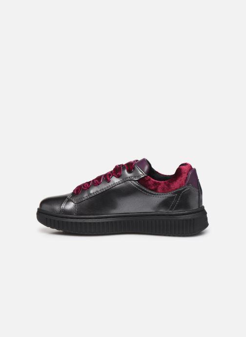 Sneakers Geox J Discomix Girl J847YB Grigio immagine frontale
