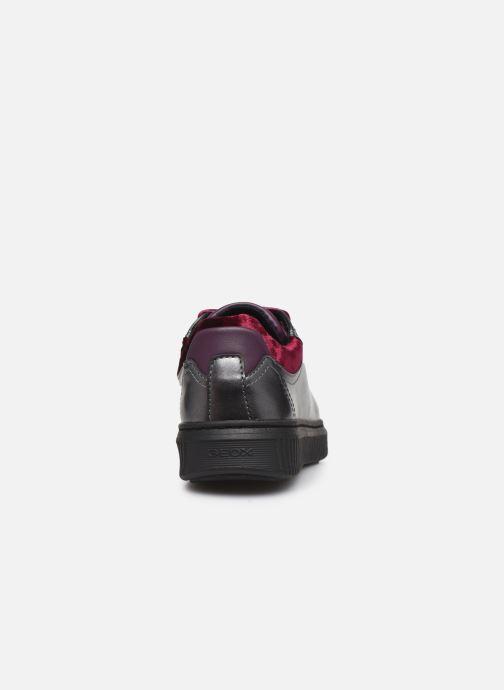Sneakers Geox J Discomix Girl J847YB Grigio immagine destra