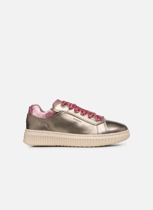 Sneaker Geox J Discomix Girl J847YB gold/bronze ansicht von hinten