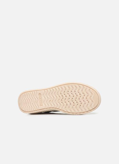 Sneaker Geox J Discomix Girl J847YB gold/bronze ansicht von oben