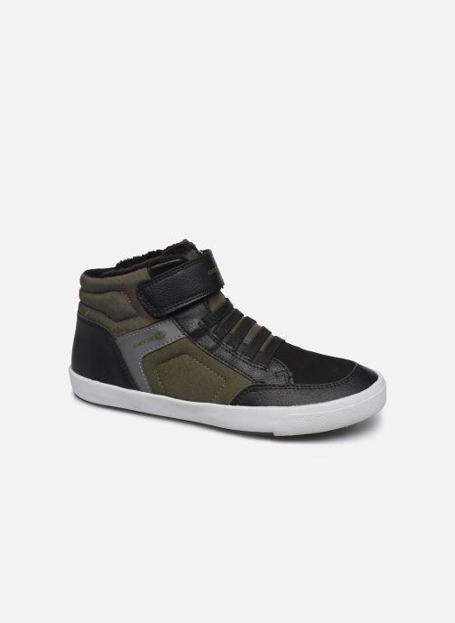 Sneakers Geox J Gisli Boy J845CB Groen detail