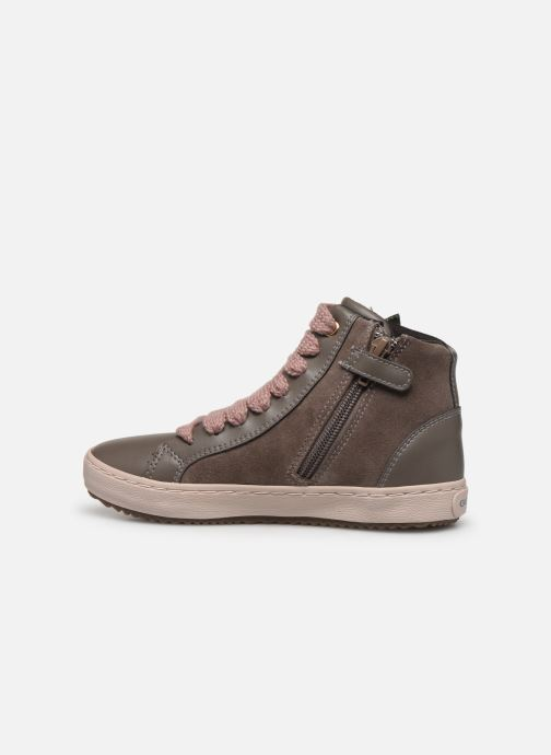 Sneakers Geox J Kalispera Girl J844GC Grigio immagine frontale