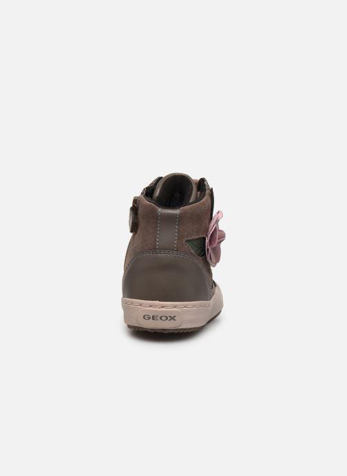 Sneakers Geox J Kalispera Girl J844GC Grigio immagine destra