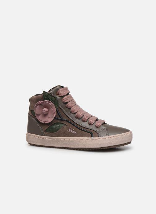 Sneakers Geox J Kalispera Girl J844GC Grigio immagine posteriore