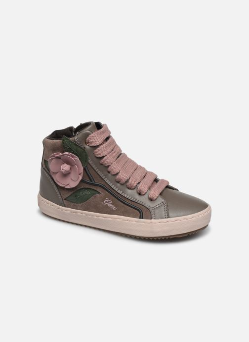 Sneakers Geox J Kalispera Girl J844GC Grigio vedi dettaglio/paio