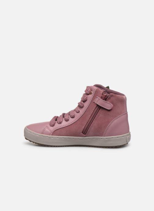 Sneakers Geox J Kalispera Girl J844GC Roze voorkant
