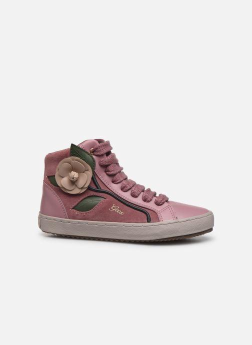 Sneakers Geox J Kalispera Girl J844GC Roze achterkant