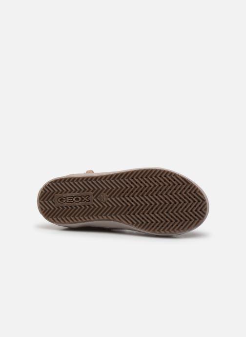 Sneakers Geox J Kalispera Girl J844GC Roze boven