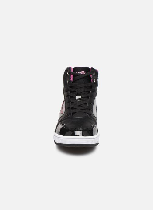 Baskets Geox J Maltin Girl J8400A Noir vue portées chaussures