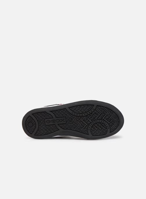 Baskets Geox J Maltin Girl J8400A Noir vue haut