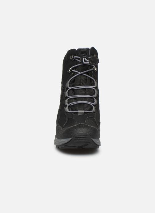 Bottines et boots Geox J New Alaska Boy J847PD Noir vue portées chaussures