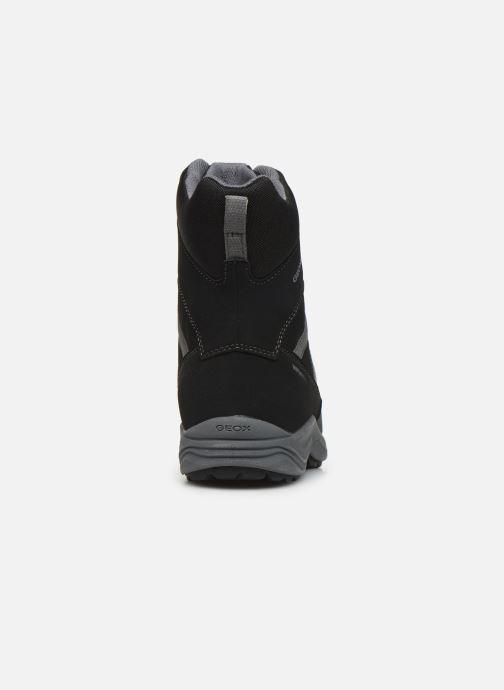Bottines et boots Geox J New Alaska Boy J847PD Noir vue droite