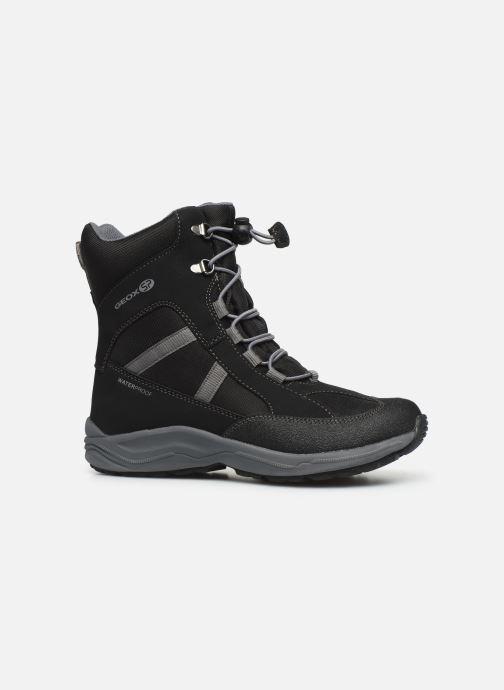 Bottines et boots Geox J New Alaska Boy J847PD Noir vue derrière