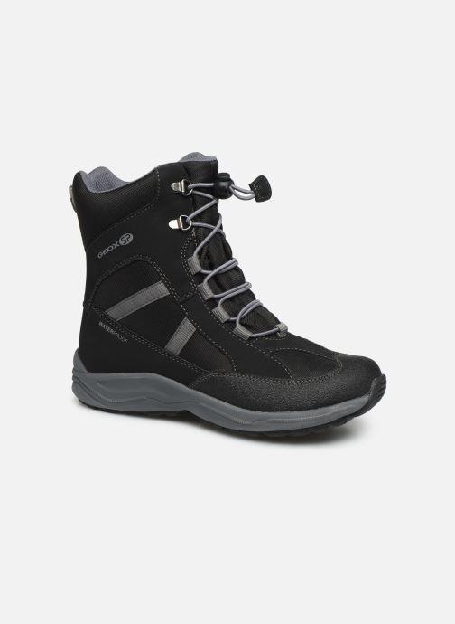 Bottines et boots Geox J New Alaska Boy J847PD Noir vue détail/paire