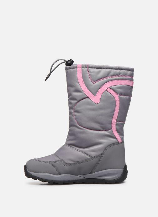 Chaussures de sport Geox J Orizont B Girl ABX J842BA Gris vue face
