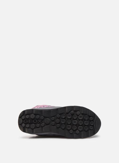 Chaussures de sport Geox J Orizont B Girl ABX J842BA Gris vue haut