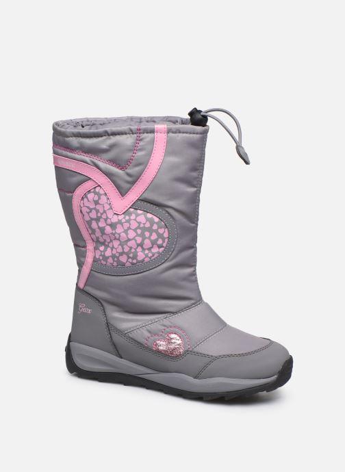Chaussures de sport Geox J Orizont B Girl ABX J842BA Gris vue détail/paire