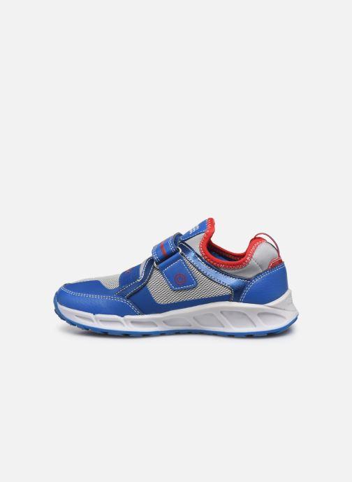 Sneakers Geox J Shuttle Boy J8494A Azzurro immagine frontale