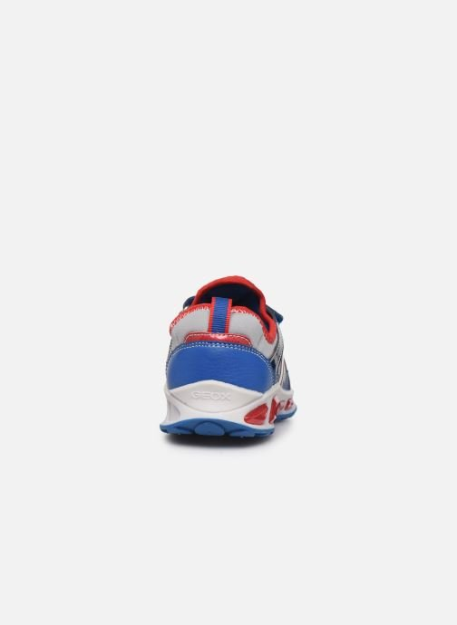 Sneakers Geox J Shuttle Boy J8494A Azzurro immagine destra