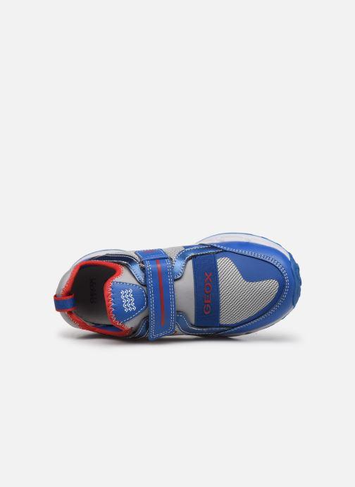 Sneakers Geox J Shuttle Boy J8494A Azzurro immagine sinistra