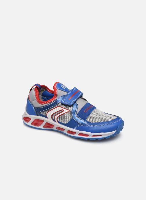 Sneakers Geox J Shuttle Boy J8494A Azzurro vedi dettaglio/paio