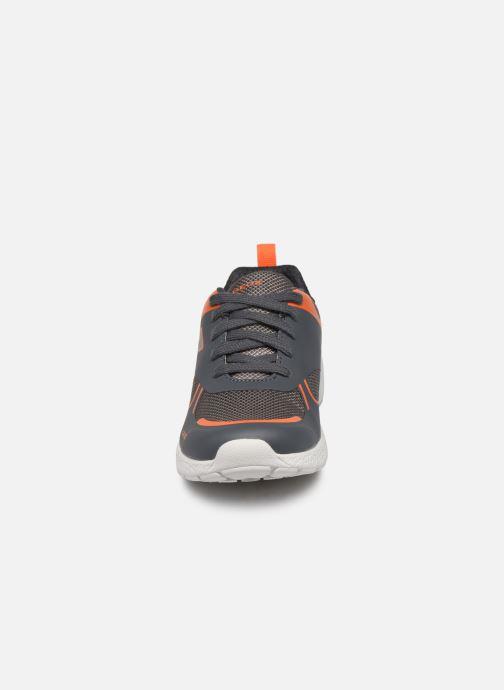 Baskets Geox J Sveth Boy J846PE Gris vue portées chaussures