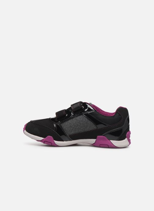Trainers Geox JR Tale J8421A Black front view