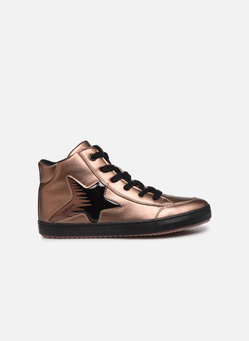 Sneakers Geox J Kalispera Girl J844GB Goud en brons achterkant