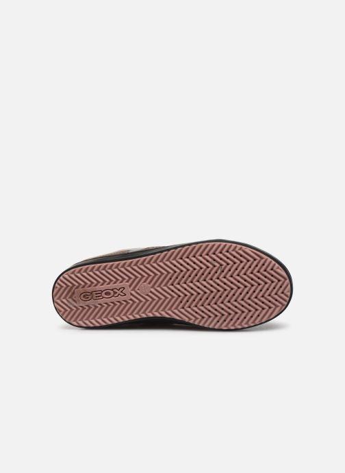 Sneakers Geox J Kalispera Girl J844GB Goud en brons boven