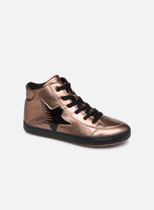 Sneakers Geox J Kalispera Girl J844GB Goud en brons detail