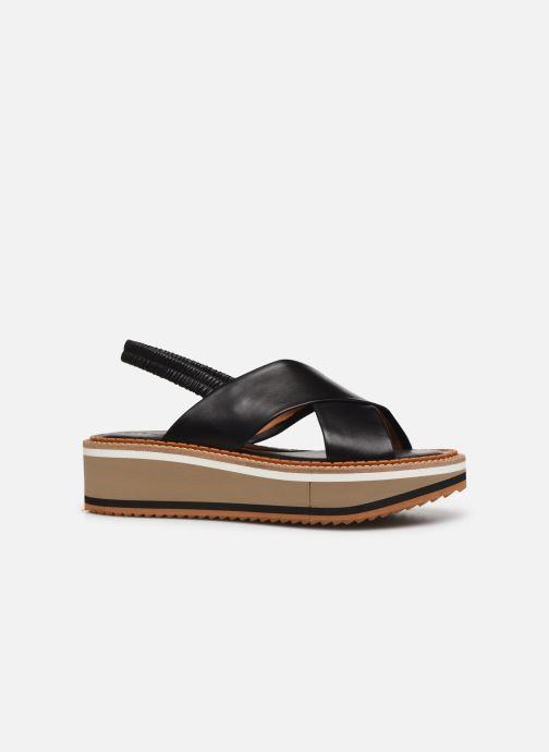 Sandales et nu-pieds Clergerie FREEDOM Noir vue derrière
