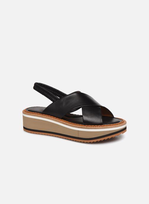 Sandales et nu-pieds Clergerie FREEDOM Noir vue détail/paire
