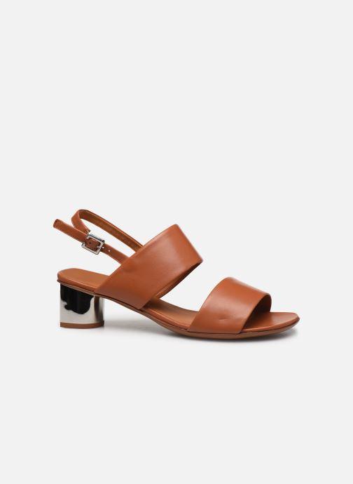 Sandali e scarpe aperte Clergerie LEONIE Marrone immagine posteriore