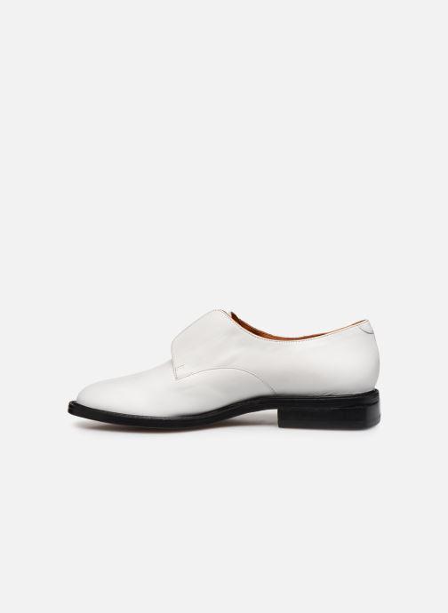 Zapatos con cordones Clergerie RAYANNE Blanco vista de frente