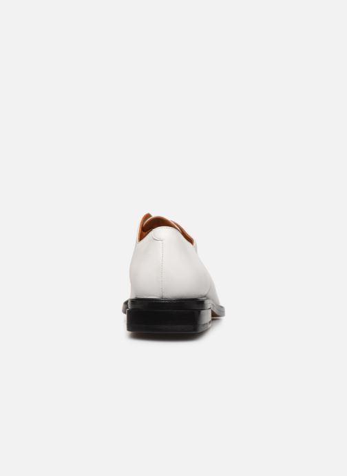 Scarpe con lacci Clergerie RAYANNE Bianco immagine destra