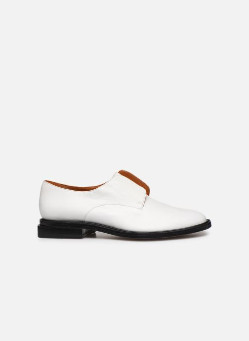 Zapatos con cordones Clergerie RAYANNE Blanco vistra trasera