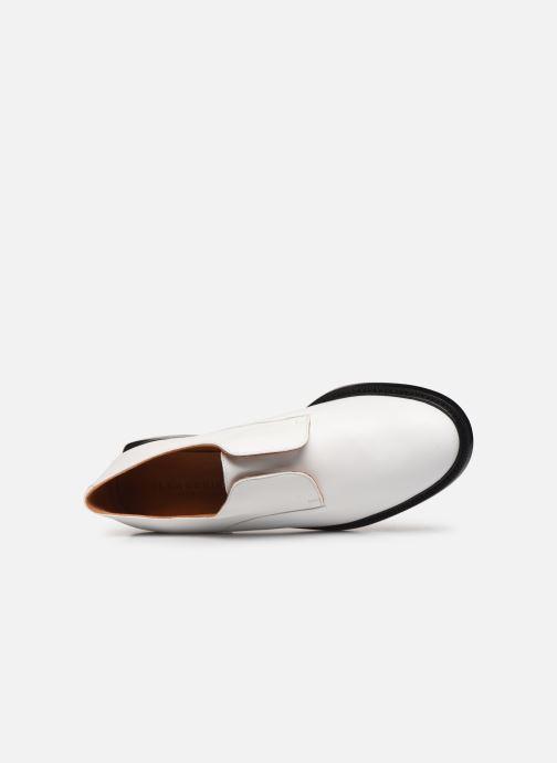 Zapatos con cordones Clergerie RAYANNE Blanco vista lateral izquierda