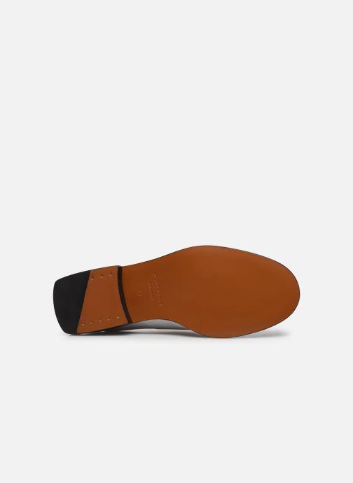 Chaussures à lacets Clergerie RAYANNE Blanc vue haut