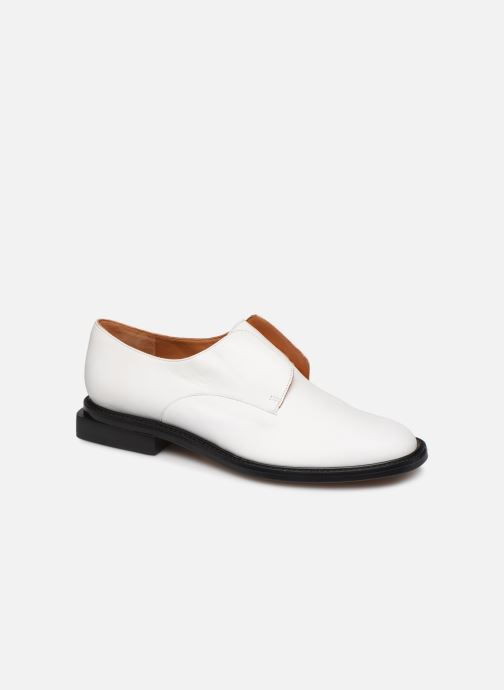 Zapatos con cordones Clergerie RAYANNE Blanco vista de detalle / par