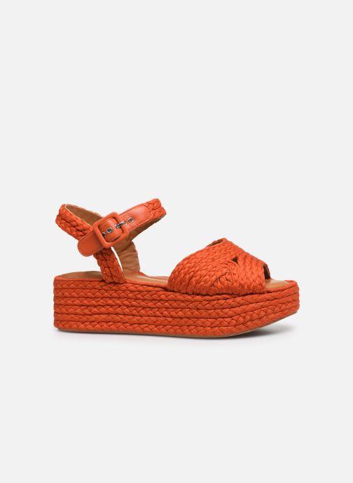 Sandali e scarpe aperte Clergerie ALDA Arancione immagine posteriore