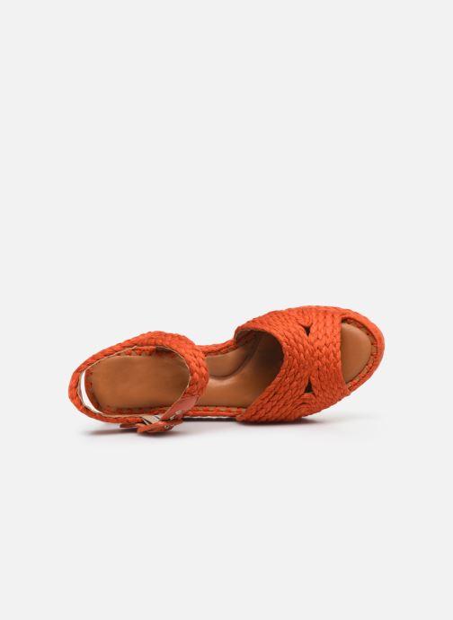 Sandali e scarpe aperte Clergerie ALDA Arancione immagine sinistra