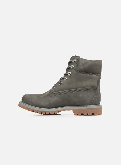 Boots en enkellaarsjes Timberland 6 in Premium Boot Grijs voorkant